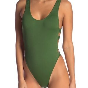 Bikini lab strappy one piece